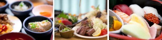 和食・洋食のメニューを豊富に取り揃えております